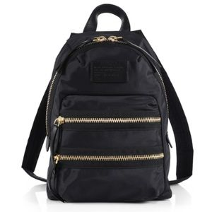MARC BY MARC JACOBS mini black backpack